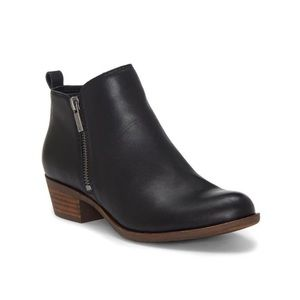 Lucky Brand Basel Zip Up Bootie | Black